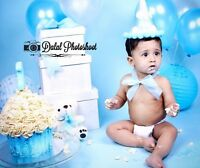 birthday / cake smash photography in your home only 150$