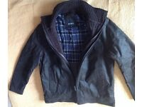 Leather Jacket XL Barneys