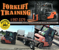 FORKLIFT COURSE STARTING SOON!