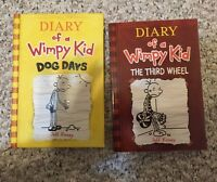 Variety of elementary school  aged books