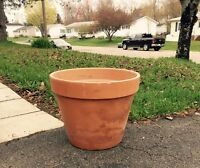 Large Terracotta Clay Planter Flower Pot
