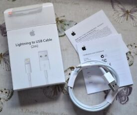 2m Apple Lightning to usb charger cable iphone 5 c s se 6 s plus 7 s plus