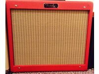 Fender Blues Junior III Limited Edition Red Tolex Vintage V30 speaker