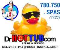 CHEMICAL Delivery & WATER CARE Services- DRHOTTUB.COM