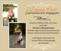 Limited Spots! Halloween Minis!