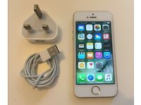 iPhone 5s Gold condition like new