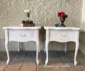 French provincial pair of tables