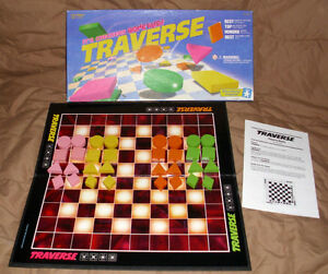 """RARE-1992 Educational Insights """"TRAVERSE"""" Checkers Gone Wild! London Ontario image 2"""