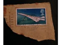 Concorde postage stamp