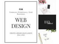 Web Design for Small Businesses, Entrepreneurs & Freelancers
