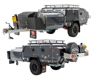 NEW Ezytrail Stirling GT MK2 Camper Trailer Off road Forward Fold Fyshwick South Canberra Preview