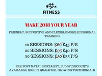Personal Training in London and Surrey - First Session FREE!