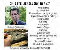 On Site Jewellery Repair at Kreative Design