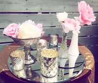 Vintage wedding decor for rent