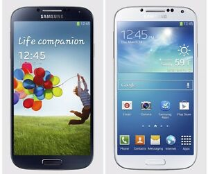 Unlocked Samsung Galaxy S4 16gb White/Grey mint