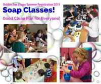 Soap Making Class for Kids and Adults!
