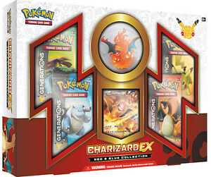 Pokemon Charizard EX Red & Blue Collection Available @ Breakaway
