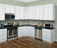 10x10 white kitchen cabinet &counter tops $1,850
