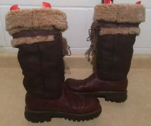 Women's Tall Insulated Winter Boots Size 8.5 London Ontario image 2