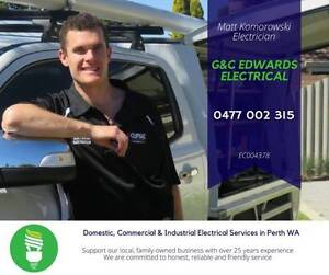 ELECTRICIAN - G&C Edwards Electrical Huntingdale Gosnells Area Preview