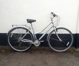 "LADIES FALCON HYBRID BIKE 19"" FRAME £65"