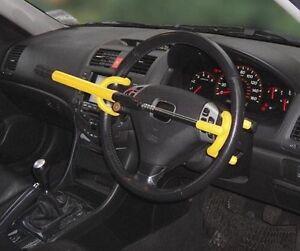 *** Double Hooks Steering Wheel Lock ***