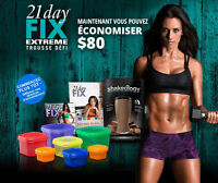 Coach Beacbody - Trousse de défi 21 Day FIX + Shakeology