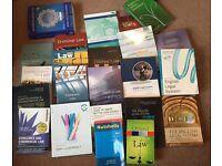 Law Books Bundle - £130! Over £300 worth!!