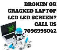 Laptop LCD screen replacement services - OEM parts