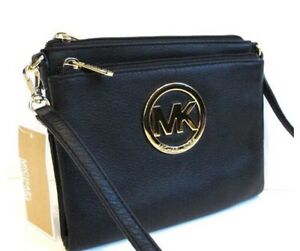 Authentic MICHAEL KORS cross body wallet bag