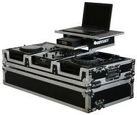 Pioneer CDJ 850 & Mixer 10' Road Case Odyssey