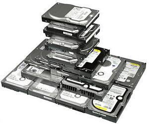 "2.5"" & 3.5"" Laptop & Desktop Hard Drives SATA & IDE (Hwy7/400)"