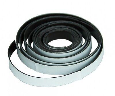 Magnetstreifen Magnetband Klebeband Magnet Band Streifen selbstklebend 2,5m