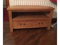 Oak TV stand for sale