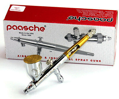 Paasche TG2L Talon Dual Action Gravity Feed Airbrush TG#2L