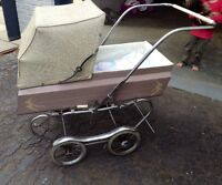 Classic baby carriage