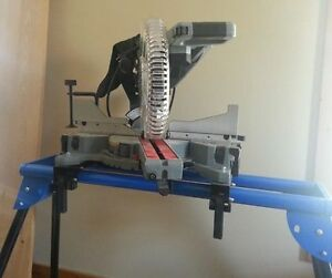 MAXIMUM Sliding Compound Mitre Saw and Stand