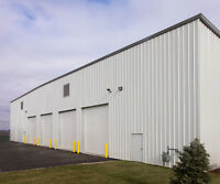YOUR NEW STEEL BUILDING. WE CAN DO IT ALL