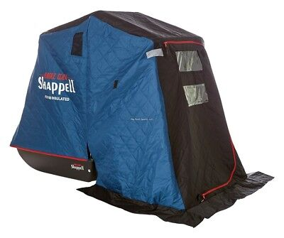 NEW Shappell One Man Flip-Insulated Ice Shelter Fish House FX100I  - Man Ice Shelter
