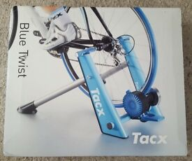 Tacx Blue Twist indoor cycle Bike turbo trainer