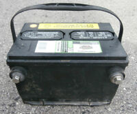 Car Battery (One Year Old Side Terminal)