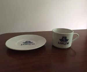Jablum Jamaican coffee cup and saucer West Island Greater Montréal image 2