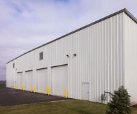 WE ERECT STEEL BUILDINGS IN KAPUSKASING