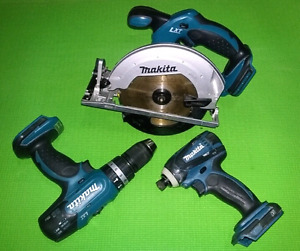 MAKITA LXT PACKAGE DEAL- bare tools only