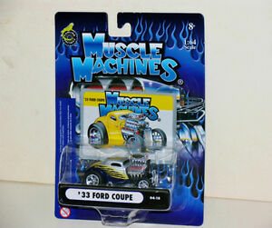 Muscle Machines '33 Ford Coupe 1:64 Diecast