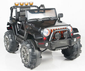 Real 4X4 Jeep Ride on Cars with RC for Kids and Toddlers