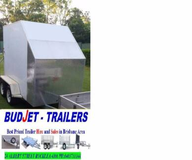 TRAILER HIRE RENTAL FULLY ENCLOSED 9x5 ft FROM $60 P/D
