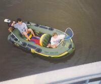 Sevlor inflatable raft