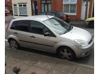 Silver 2002 Ford Fiesta Zetec 1.4! MOT until 22/07/2017!