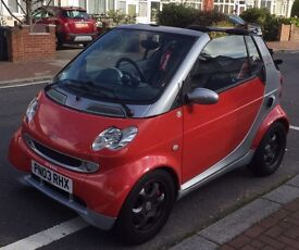 2003 smart convertible brabus package only 46,600 miles